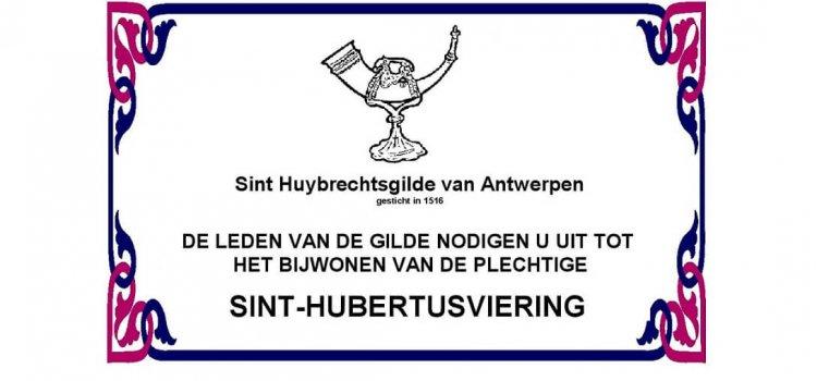 Sint-Hubertusviering van de Sint Huybrechtsgilde van Antwerpen