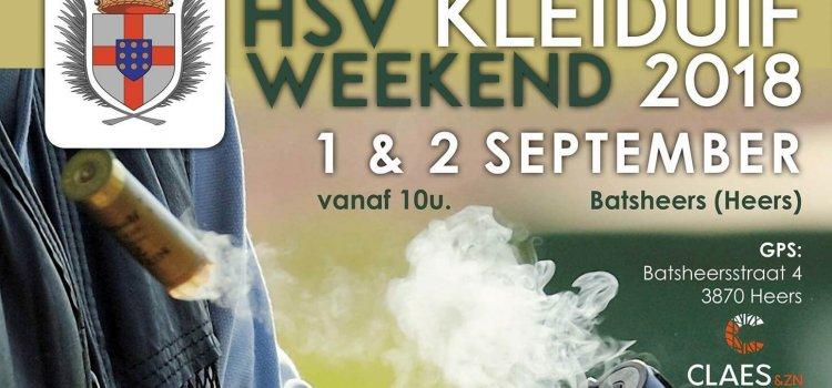 HSV Kleiduifweekend 2018