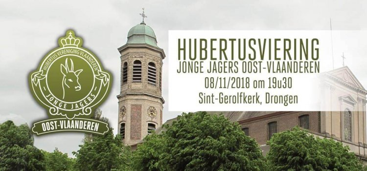 Hubertusviering Jonge Jagers Oost-Vlaanderen 08/11