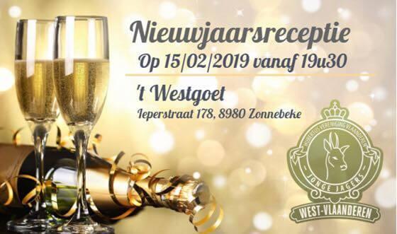 Nieuwjaarsreceptie Jong Jagers West-Vlaanderen