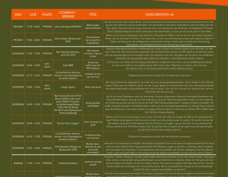 Agenda Hunting Gent: lezingen, politieke debatten, masterclasses