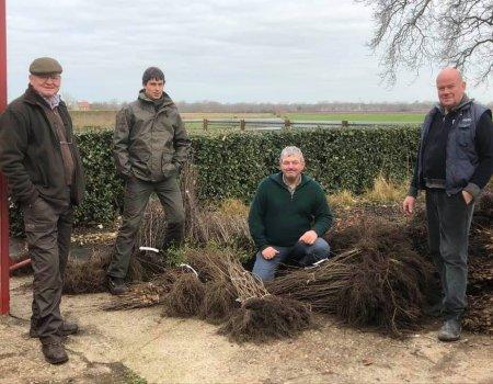 Limburgse jagers planten 24.000 hagen en bomen