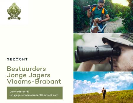 Gezocht: bestuurders Jonge Jagers Vlaams-Brabant