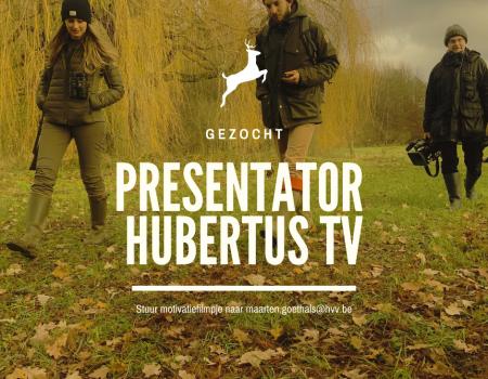 Gezocht: televisiegezicht voor Hubertus TV